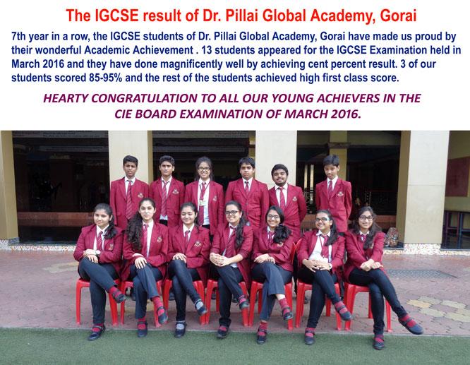 IGCSE-Reult-2016